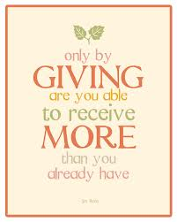 Quotes About Giving Meme Image 01
