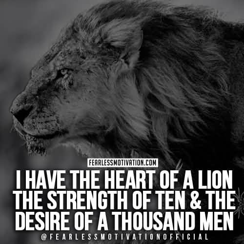 Quotes About Lions Meme Image 08