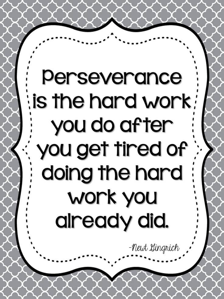 Quotes About Perseverance Meme Image 18