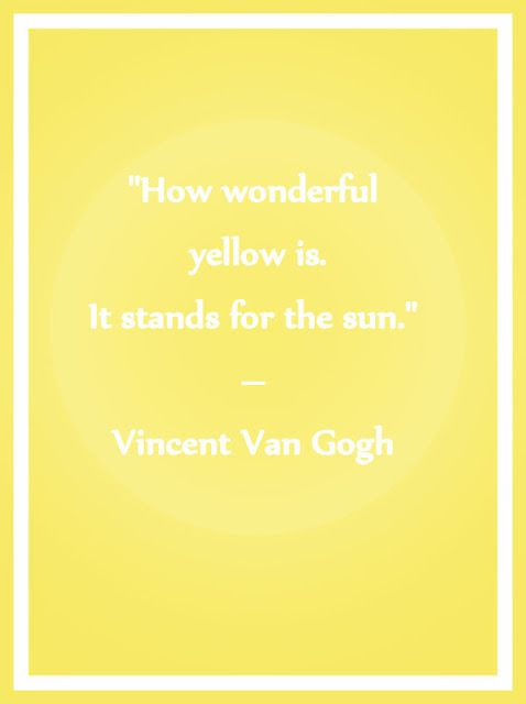 Quotes About Yellow Meme Image 09