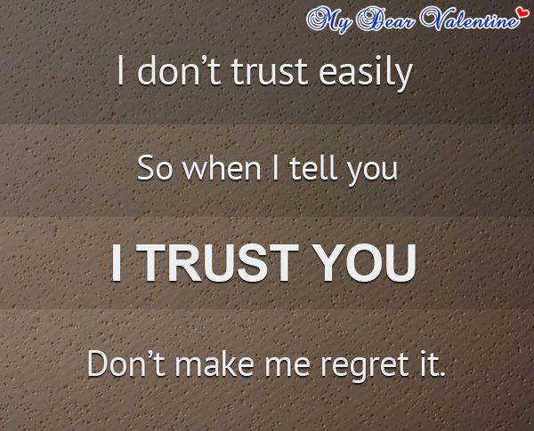 Romantic Trust Quotes Meme Image 06