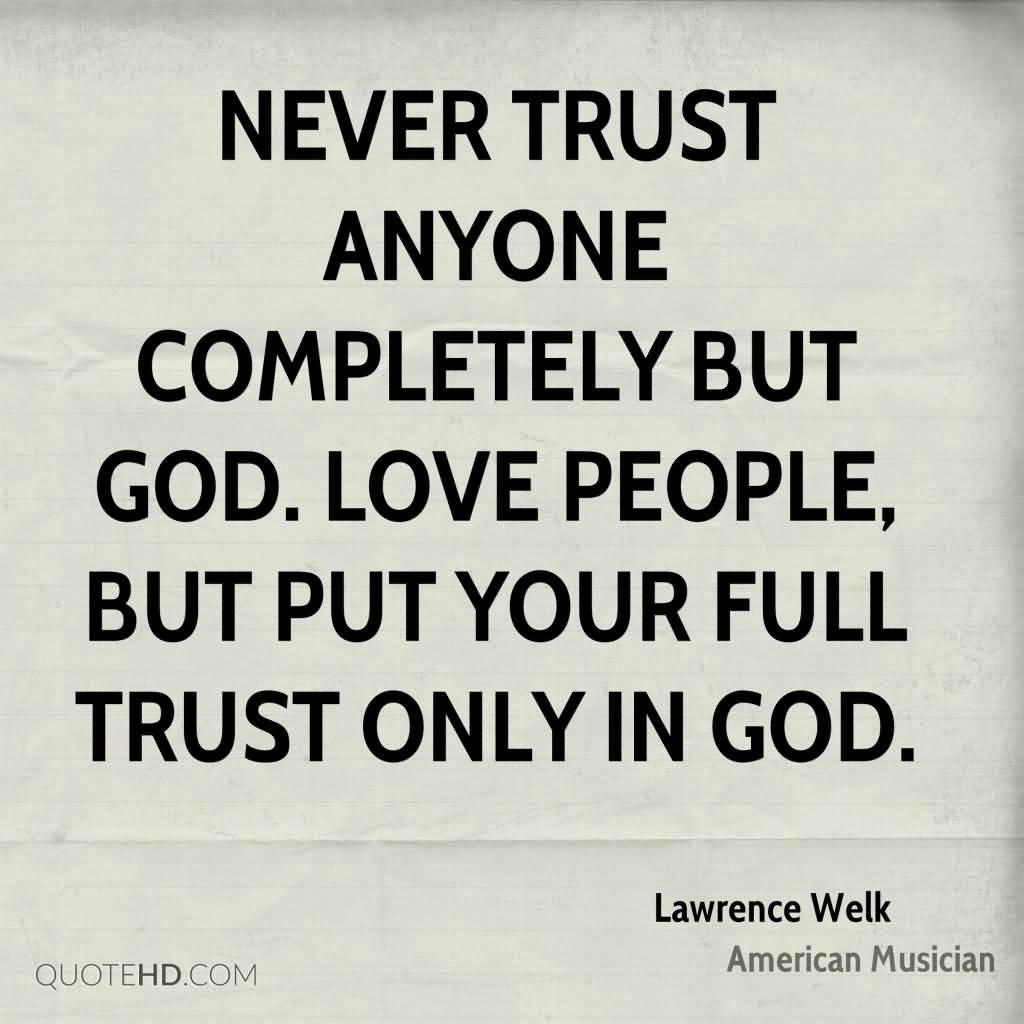 Romantic Trust Quotes Meme Image 18