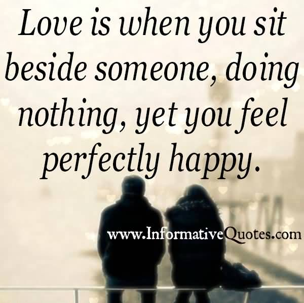 Silence With Someone You Love Quotes Meme Image 16