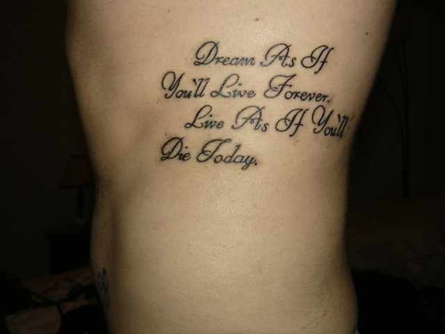 Tattoo Quotes About Death Meme Image 03 | QuotesBae