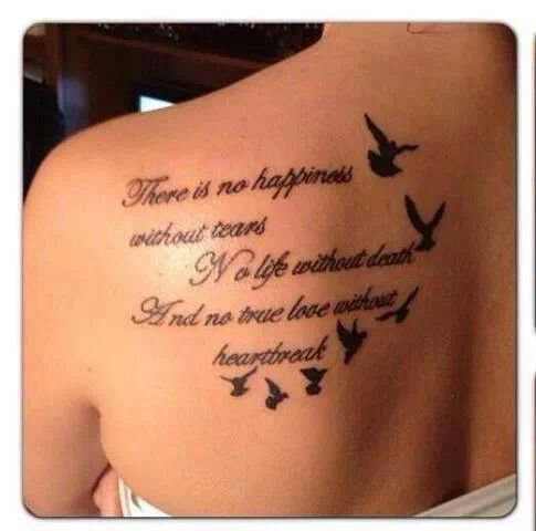 Tattoo Quotes About Death Meme Image 04 | QuotesBae