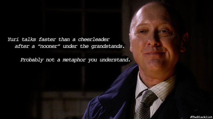 The Blacklist Quotes Meme Image 05