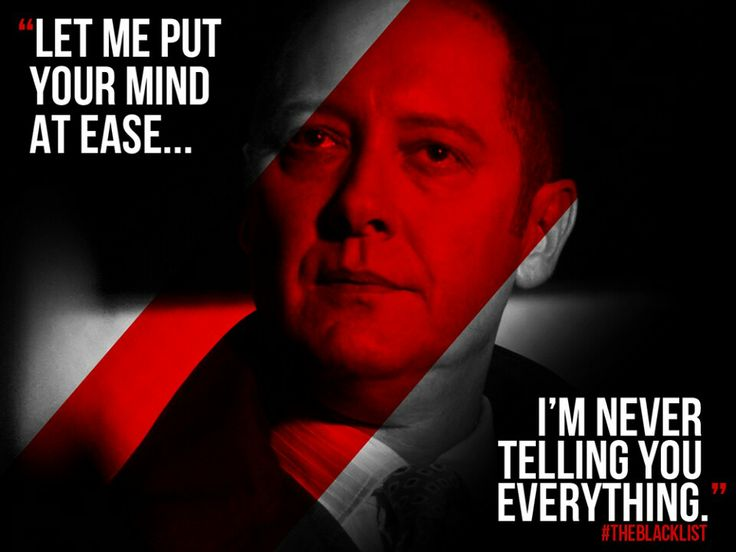 The Blacklist Quotes Meme Image 09