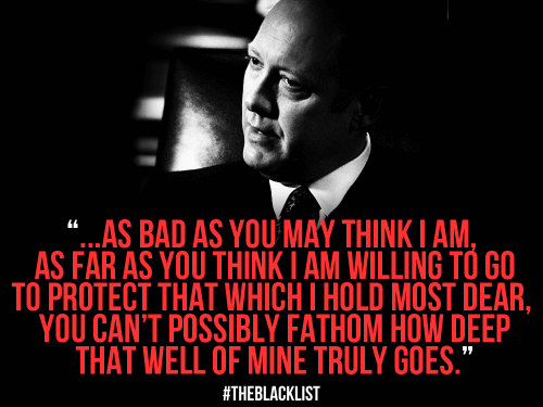 The Blacklist Quotes Meme Image 15
