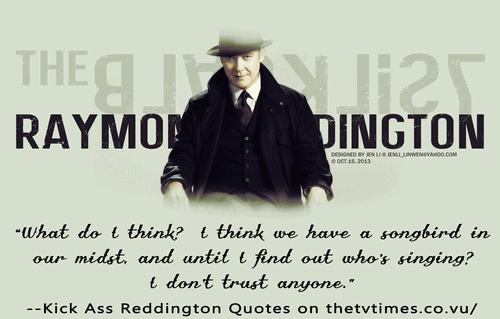 The Blacklist Quotes Meme Image 17
