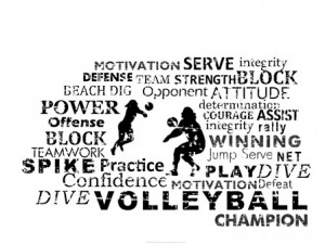 Volleyball Inspirational Quotes Meme Image 07