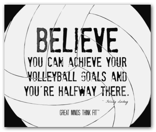 Volleyball Inspirational Quotes Meme Image 10