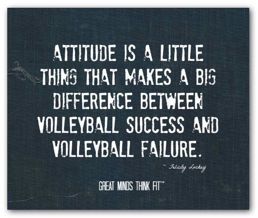 Volleyball Inspirational Quotes Meme Image 15