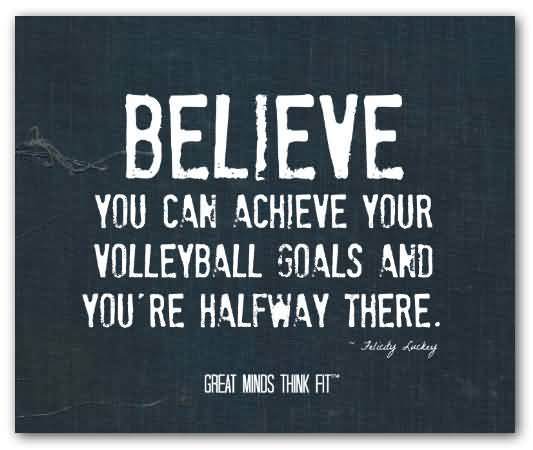 Volleyball Inspirational Quotes Meme Image 17