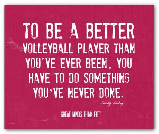 Volleyball Inspirational Quotes Meme Image 18