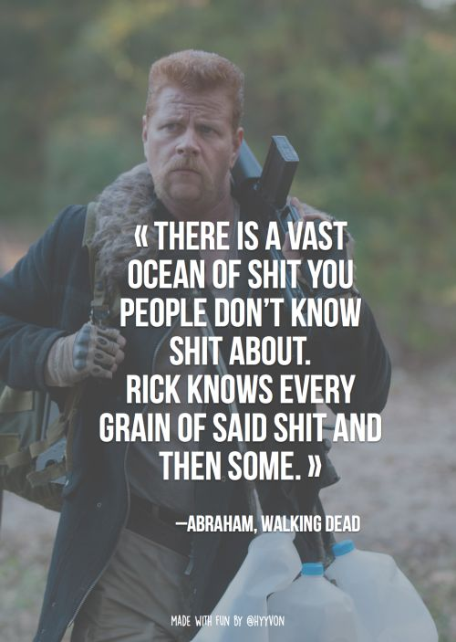 Walking Dead Quotes Meme Image 03