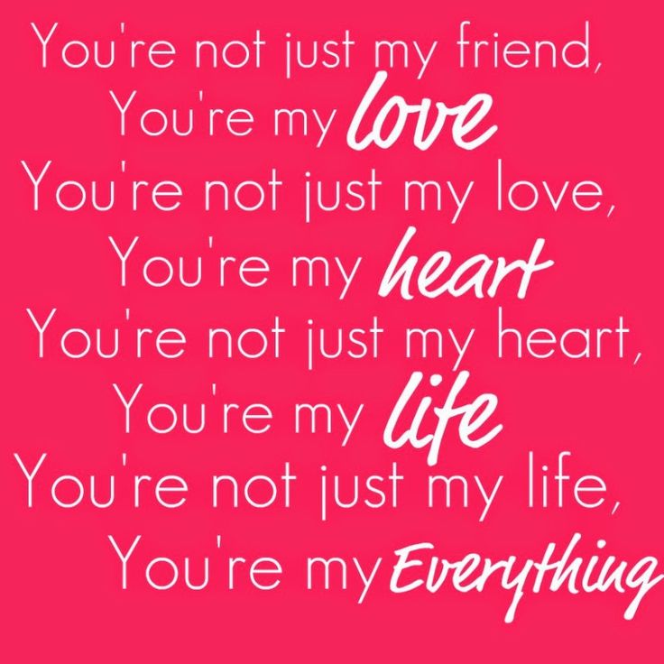 Your My Everything Quotes For Her Meme Image 10