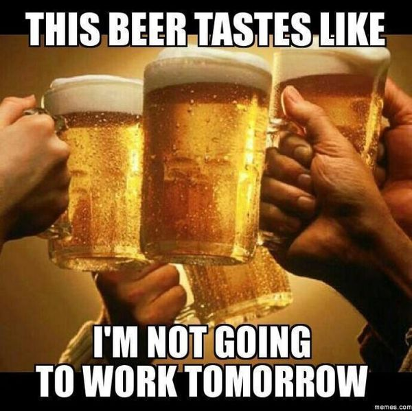 Amazing funny beer memes image