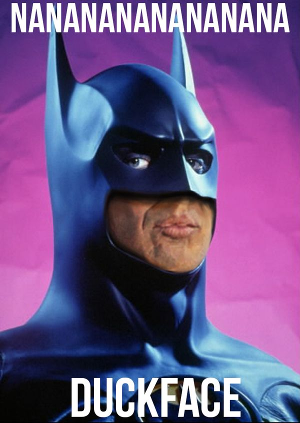 Batman Face Meme Joke