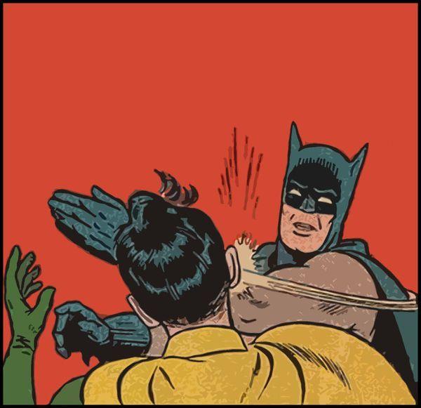Batman Punches Robin Pictures Meme