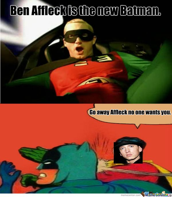 Batman Slapping Robin Meme Joke