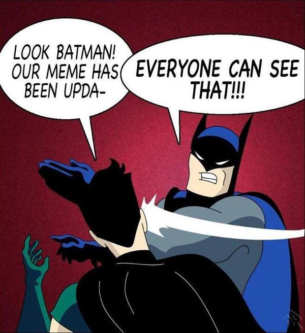 Batman Slapping Robin Meme Pictures