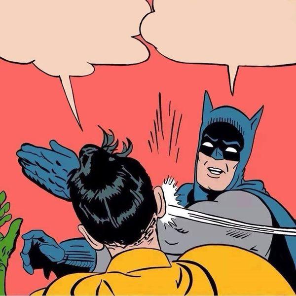 Batman Slapping Robin Original Images