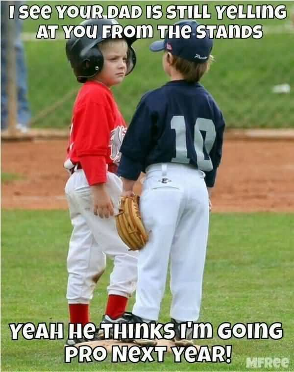 Best baseball parents quotes joke