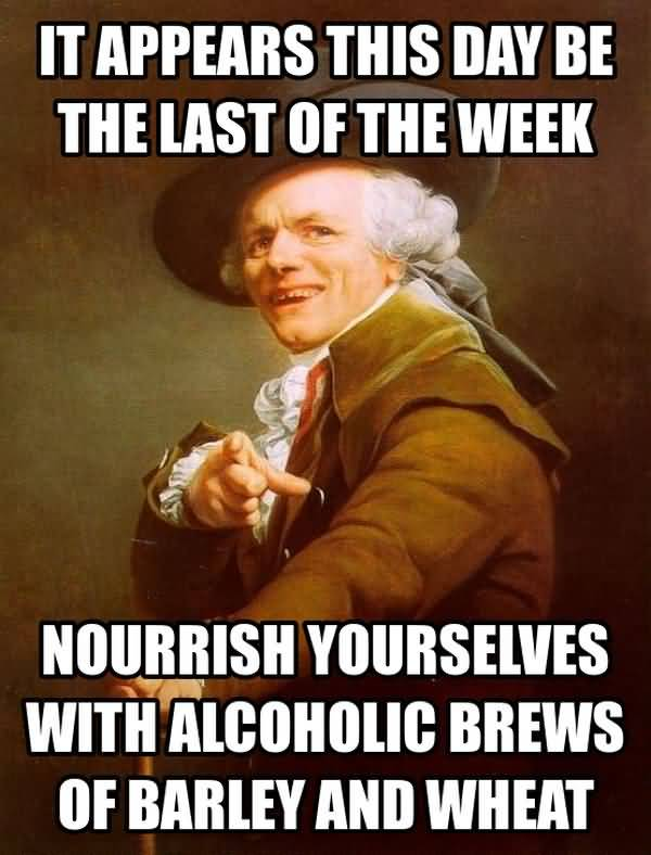 Best friday beer meme image