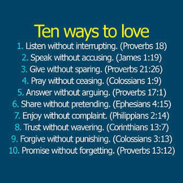 Biblical Quotes On Love 01