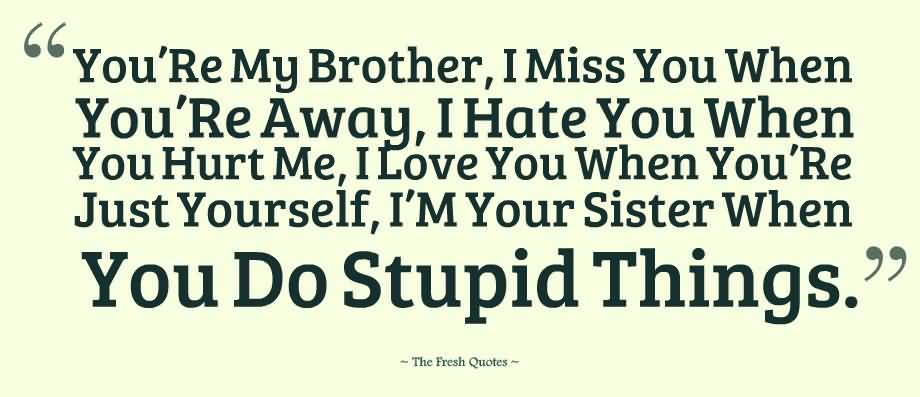 Brother And Sister Love Quotes 04