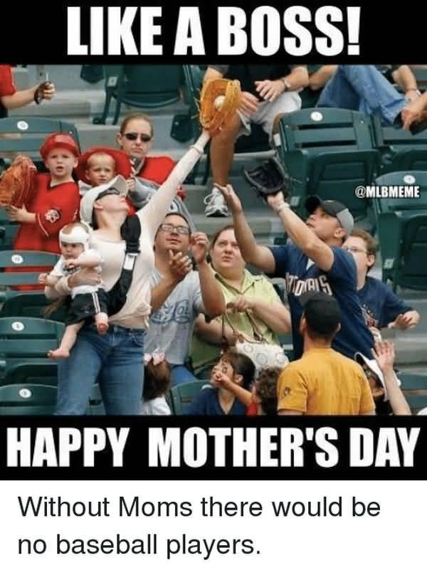 Cool baseball mom meme photo