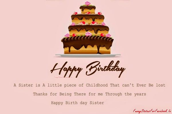 Cool birthday wishes for sister funny memes