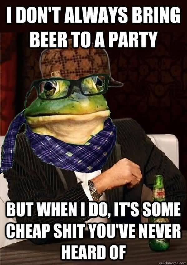 Cool cheap beer meme photo