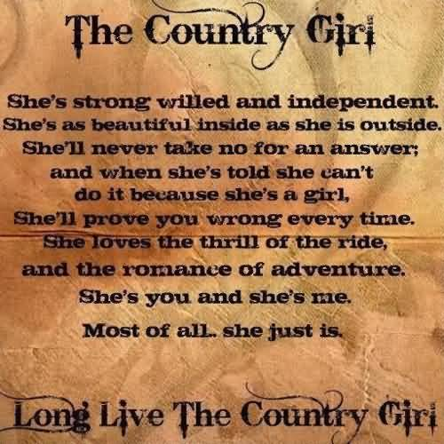 Country Life Quotes And Sayings 60 QuotesBae Gorgeous Country Life Quotes And Sayings
