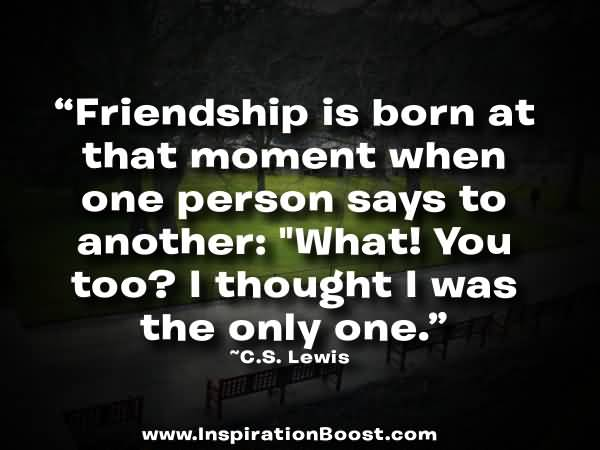Cs Lewis Quote About Friendship 03