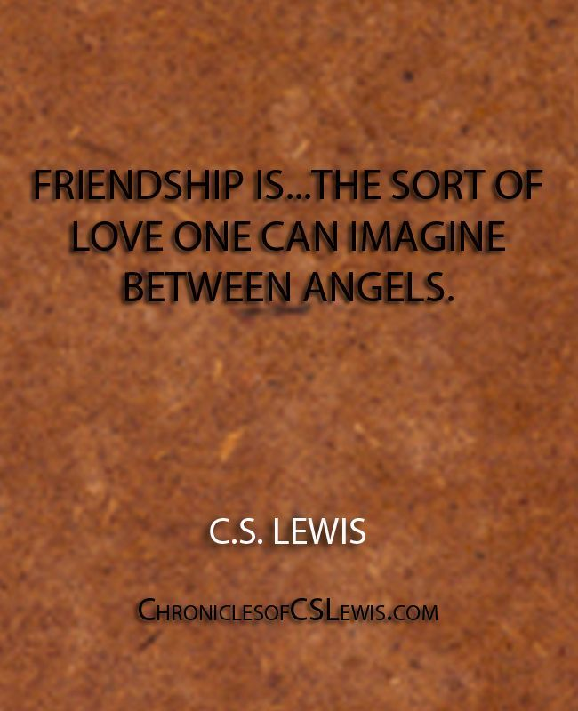 Cs Lewis Quote About Friendship 05