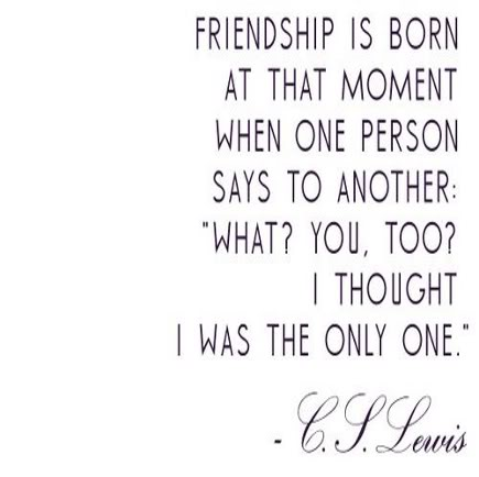 Cs Lewis Quote About Friendship 07