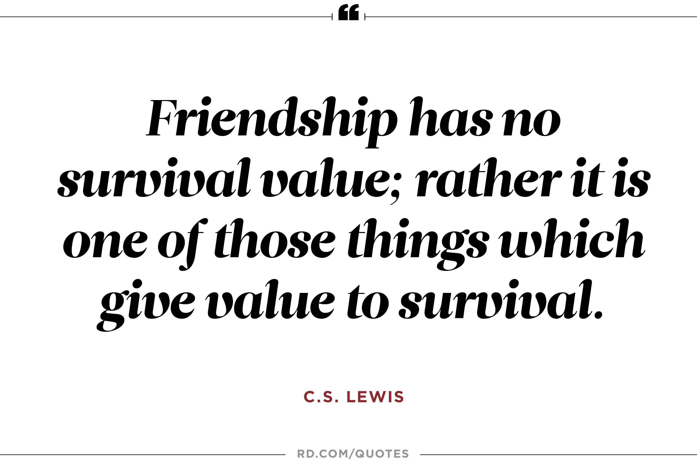 Cs Lewis Quote About Friendship 10