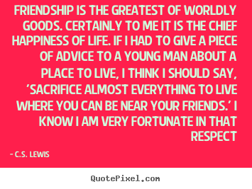 Cs Lewis Quote About Friendship 20