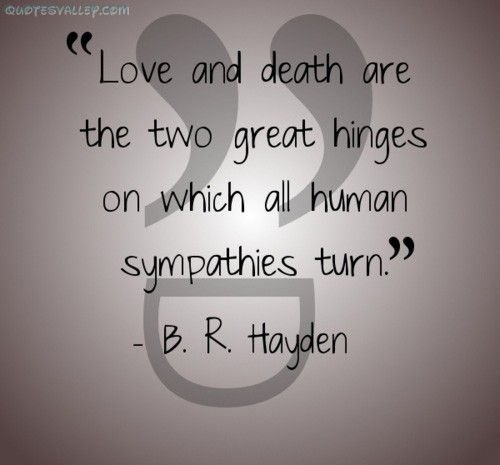 Death And Love Quotes 14