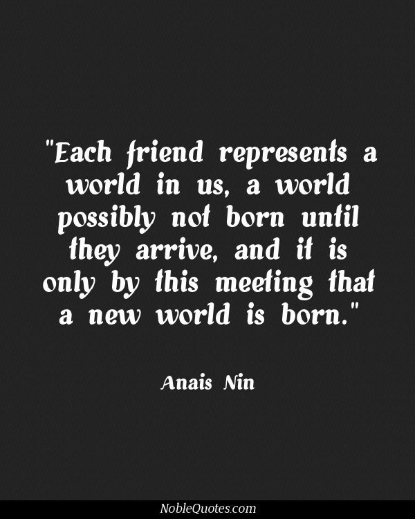 Deep Quotes About Friendship 06