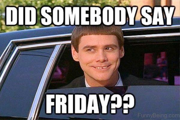 Did Somebody Say Friday Jokes