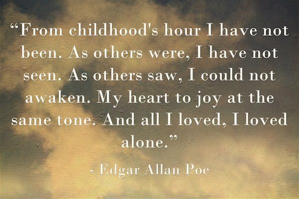 Edgar Allan Poe Life Quotes 10