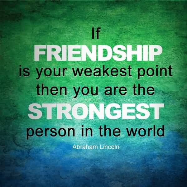 English Quotes About Friendship 16