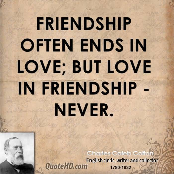 English Quotes About Friendship 17