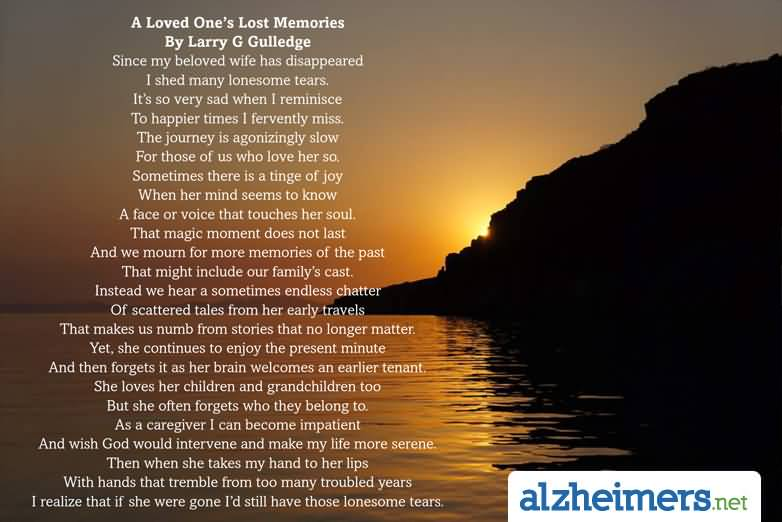 Quotes About Death Of A Loved One. Loss Of A Loved One ...