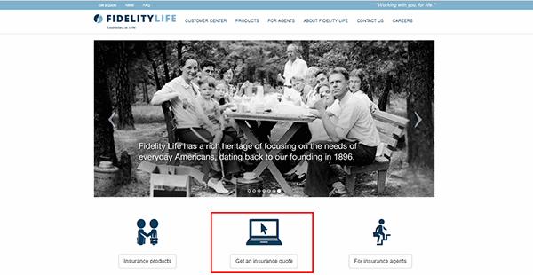 Fidelity Life Insurance Quotes Mesmerizing Fidelity Life Insurance Quotes