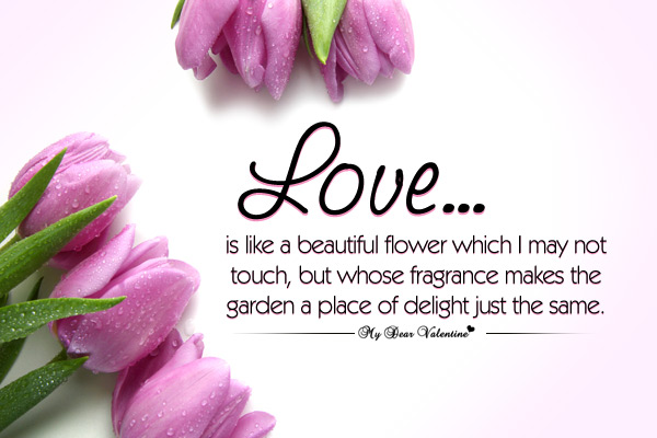 Flower Love Quotes 09