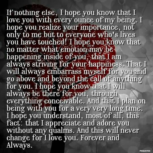 Forever Love Quotes 16