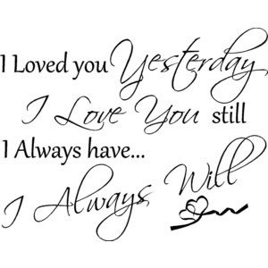Free I Love You Quotes 01